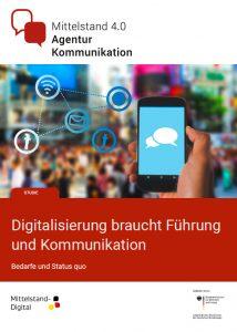 """Studie """"Digitalisierung braucht Führung und Kommunikation"""""""